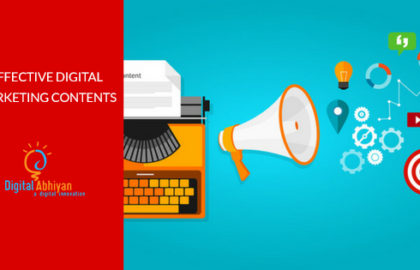 How to Make More Effective Digital Marketing Contents?